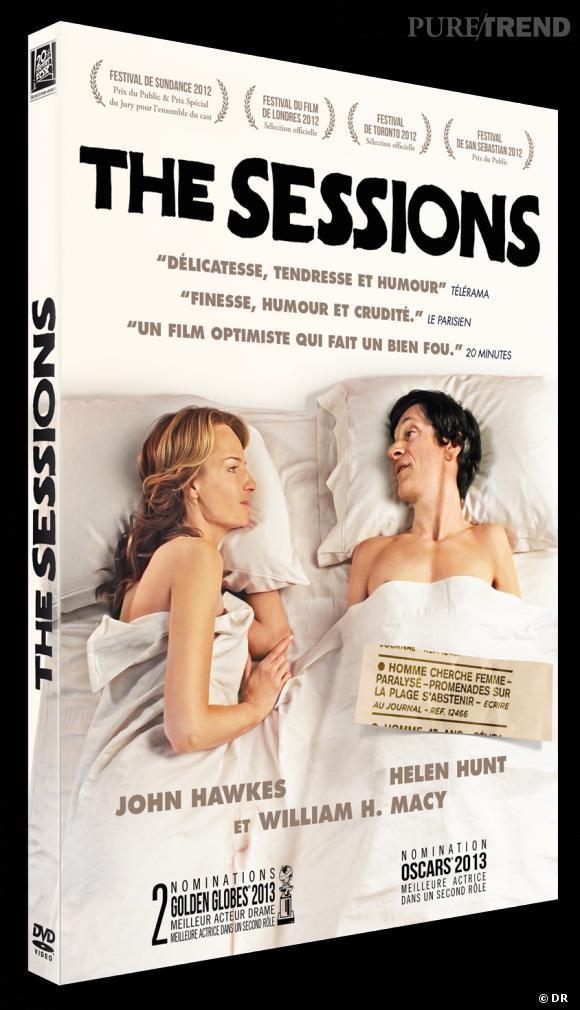 """Le DVD :  """"The Sessions"""".    Pourquoi lui ?  Un film d'amour, touchant (attention les larmes aux yeux) avec deux immenses acteurs. On craque complètement pour ce long-métrage qu'on vous recommande vivement !    Le prix :  19.99€"""
