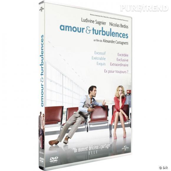 """Le DVD  : """"Amour et Turbulences"""".    Pourquoi lui ?  Une comédie romantique fraiche et inattendue portée par d'excellents acteurs. On adore !    Le prix :  19.99€"""