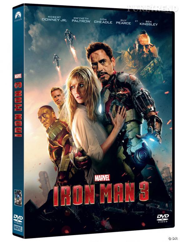 """Le DVD :  """"Iron Man 3"""".    Pourquoi lui ?  Qu'on se le dise, """"Iron Man 3"""" est le meilleur de la saga ! Et c'est rare qu'une suite ait autant de succès. On l'achète donc pour compléter sa collection de DVD Iron Man ou simplement pour l'avoir car il est déjà culte.    Le prix :  19.99€"""