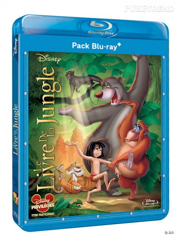 """Le DVD :  """"Le livre de la jungle"""".    Pourquoi lui ?  Redécouvrir les plus beaux Disney en format HD, le bonheur ultime. Ce mois-ci, c'est """"Le livre de la jungle"""" ! Et pour danser avec Baloo et Mowgli il n'y a rien de mieux. Il en faut peu pour être heureux.    Le prix :  19.99 €"""