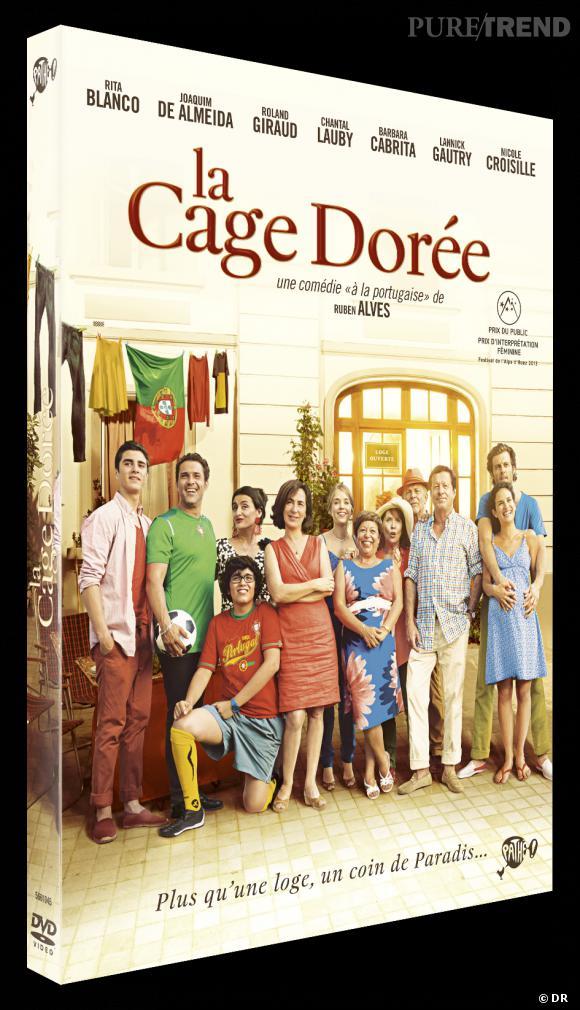 """Le DVD  : """"La cage dorée"""".    Pourquoi lui ?  On se détend comme il faut avec """"La cage dorée"""", une bien jolie comédie familiale.    Le prix :  19.99€"""