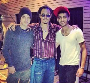 Johnny Depp : amitie surprenante avec Zayn Malik et Ed Sheeran