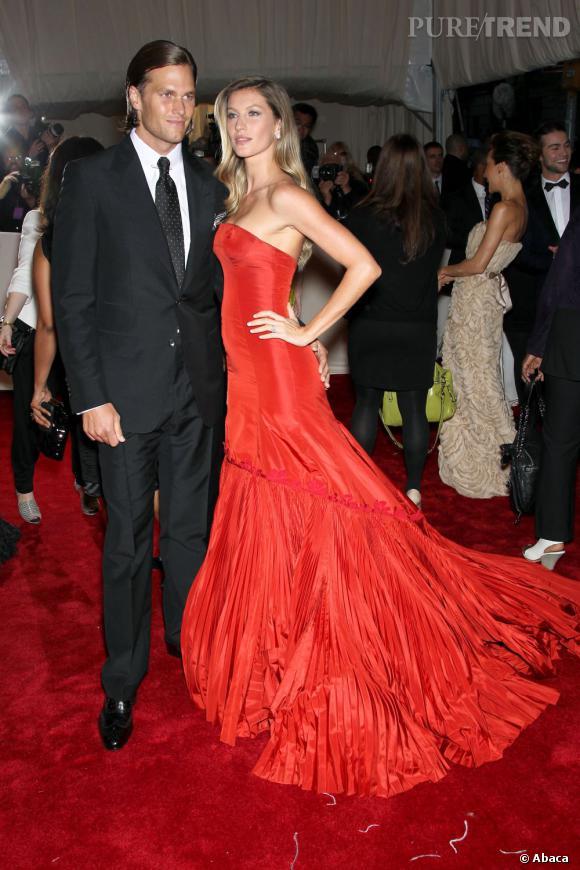 Gisele Bündchen et son mari Tom Brady.