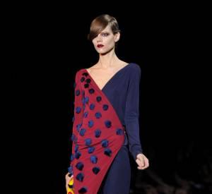 Freja Beha Erichsen au défilé Louis Vuitton Printemps-Eté 2011.