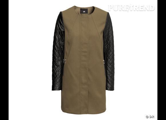 Le must have de Catherine     Manteau H&M, 49,95 €