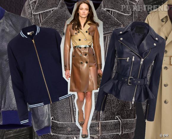 Trench, perfecto, teddy : notre sélection e-shopping de vestes pour la rentrée !