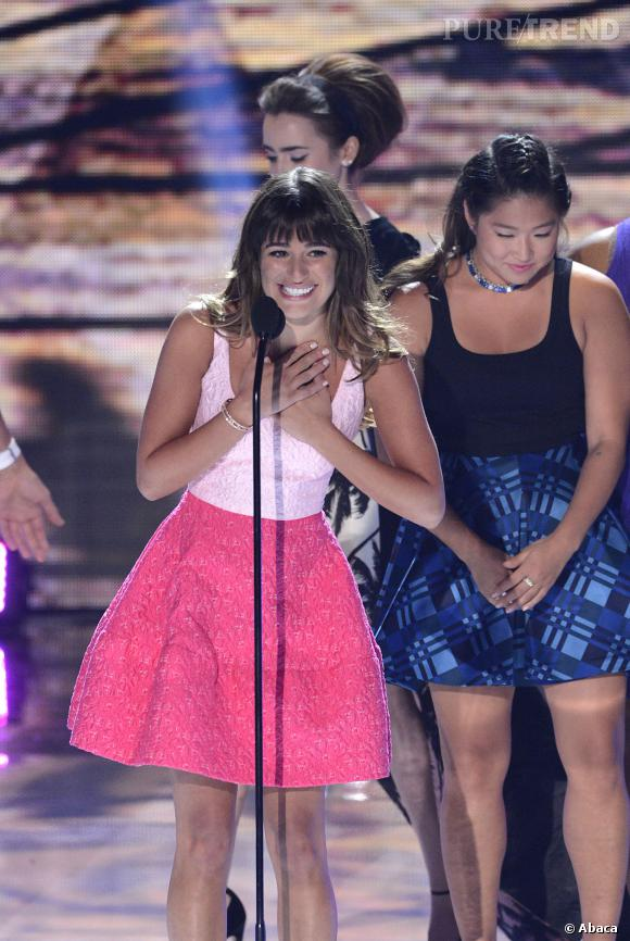 Lea Michele aux Teen Choice Awards.