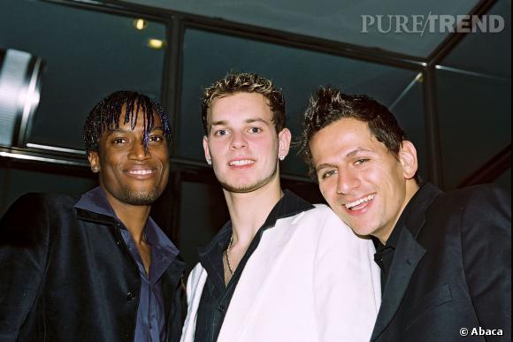 Matt Pokora faisait partie en 2003 du groupe Linkup, avec Lionel Tim et Otis.