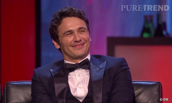 Regardez le sourire de James Franco ! Certains n'ont pas pu s'empêcher de se demander s'il était sous une quelconque influence...