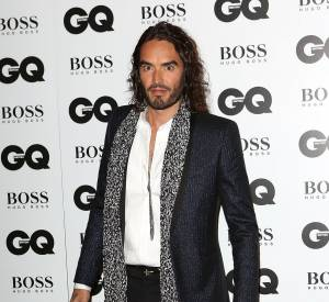 Russell Brand, L'Oracle Awards, aux GQ Men of The Year 2013.