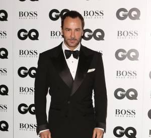 Tom Ford, Styliste de l'année, aux GQ Men of The Year 2013.