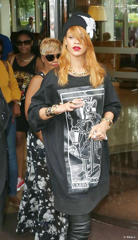 Le bonnet : la fashion obsession de Rihanna à copier !    Rihanna fan de la marque Silver Spoon Attire adopte son bonnet bandana