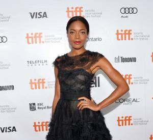 Naomie Harris au Festival International du Film de Toronto pour présenter son dernier film.
