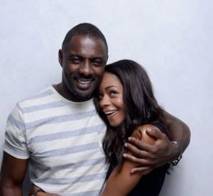 "Naomie Harris et Idris Elba parlent du film ""Long walk to Freedom""."