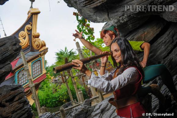 Valérie Bègue et Peter Pan surveillent les méchants...