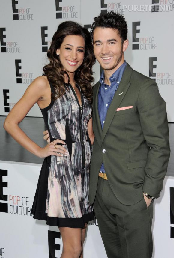 Kevin Jonas et sa femme Daniele attendent leur premier bébé.