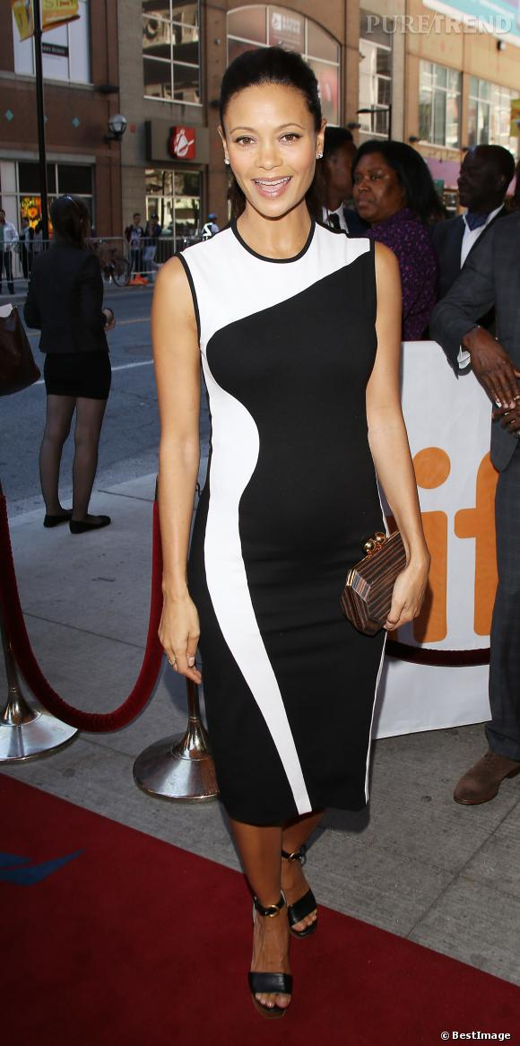 Thandie Newton, un 3e bébé surprise pour l'actrice.