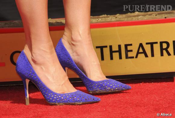 Sandra Bullock et ses escarpins Jimmy Choo.