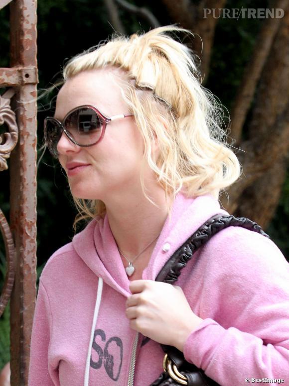 Cela fait plus de dix ans que Britney porte des extensions... Avec un résultat toujours raté.
