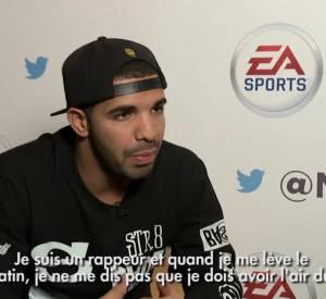 Drake, un homme sensible et un fils à maman.