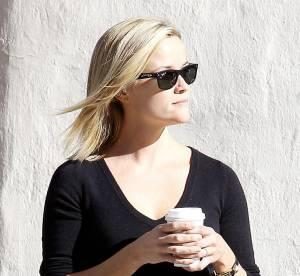 Reese Witherspoon, la jupe en cuir dans tous ses etats... A shopper !