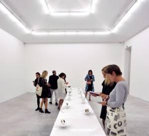 Collection Never Too Light de Delfina Delettrez à la galerie Almine Rech.