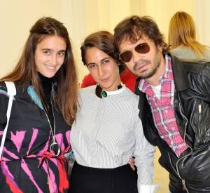Natacha Ramsay-Levi, Delfina Delettrez et Olivier Zham.