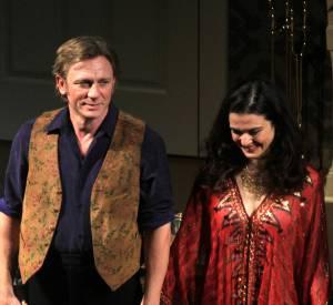 """Daniel Craig et Rachel Weisz sur les planches pour """"Betrayal"""" à Broadway."""
