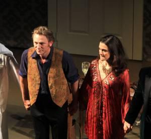 Daniel Craig et Rachel Weisz un peu amochés pour la performance.