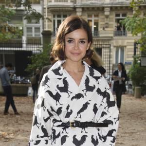 Miroslava Duma au défilé Printemps-Été 2014 Hermès.