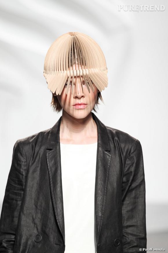 La casquette graphique - Défilé Tibi printemps-été 2014