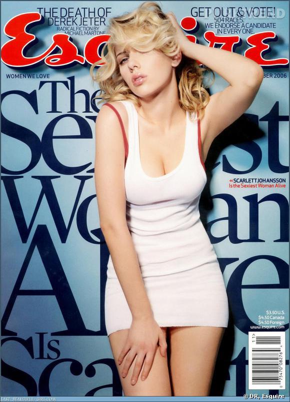 Scarlett Johansson avait déjà été honorée du titre en 2006.