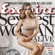Scarlett Johansson, la femme la plus sexy au monde en 2013 pour Esquire.