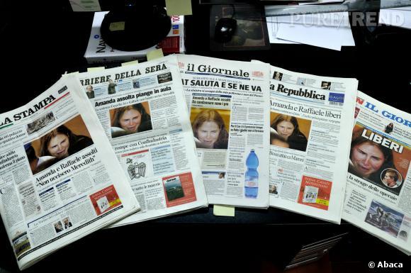 L'affaire Amanda Knox a déchainé les passions en Italie où s'est déroulé le meurtre, mais aussi aux États-Unis.