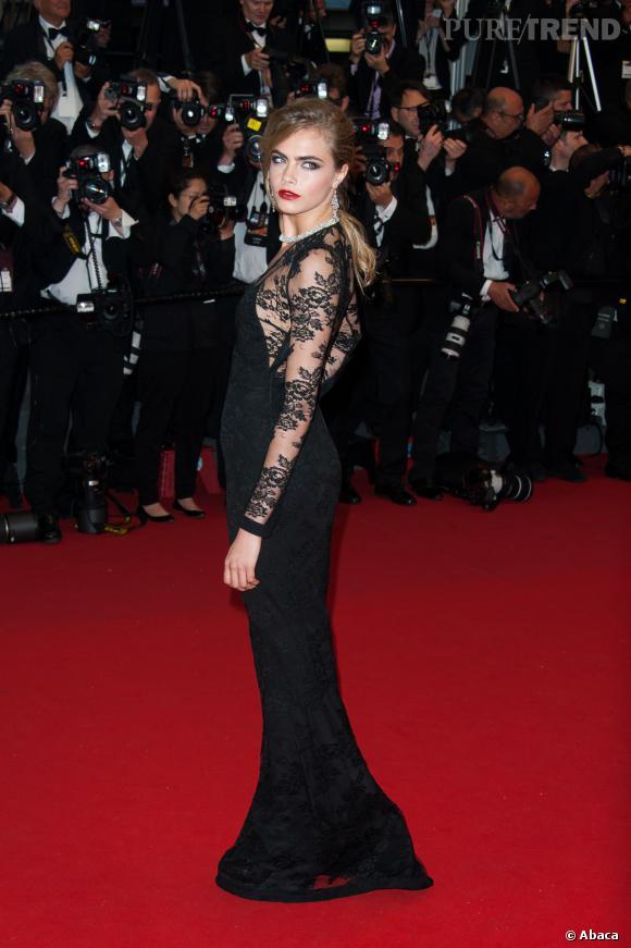 """Cara Delevingne aurait signé pour jouer dans """"The face of an angel"""", un film inspiré de la vie d'Amanda Knox."""