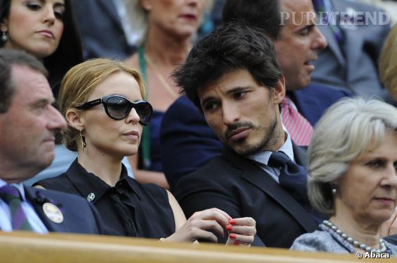 Kylie Minogue et Andres Velencoso, la malédiction des 5 ans.