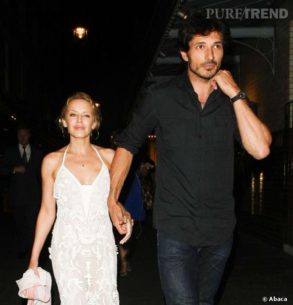 Kylie Minogue et Andres Velencoso s'étaient rencontrés en 2008.