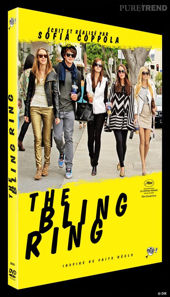 """Le DVD : """"The Bling Ring"""" Pourquoi lui ? Pour découvrir le dernier film de Sofia Coppola, qui traite d'un fait divers... pas comme les autres ! Le prix : 19.99€"""