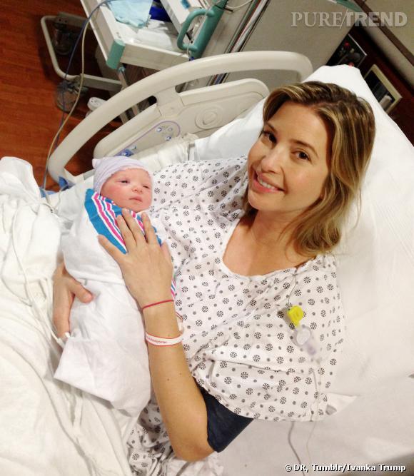 Ivanka Trump présente son second bébé, le petit Joseph.