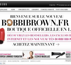 Bobbi Brown lance son e-shop en France