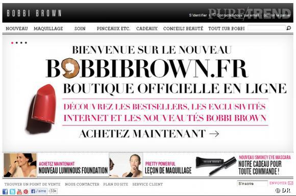 Bobbi Brown lance son e-shop.