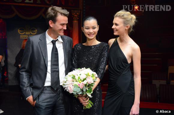 Estelle remporte la finale du concours Elite Model Look France organisée hier.