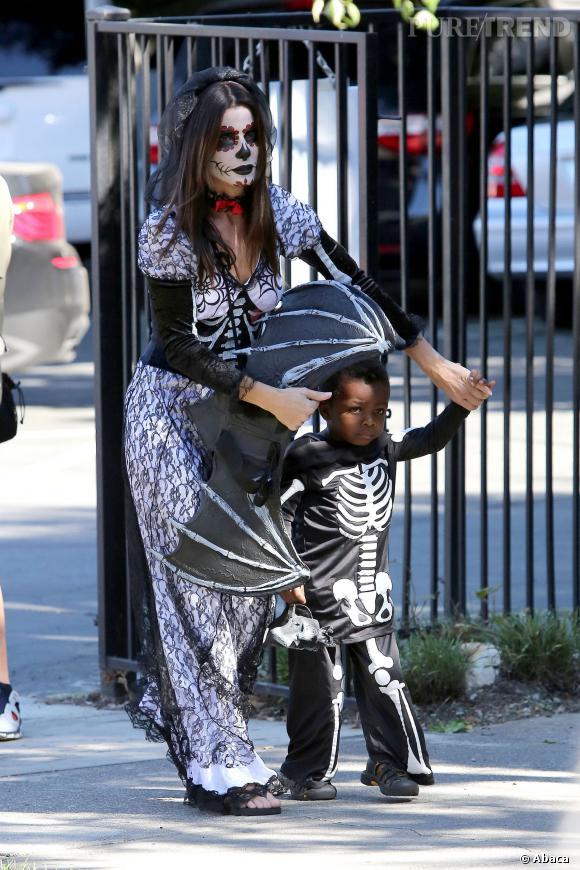 Sandra Bullock et son fils Louis : le duo le plus adorable d'Halloween, pour l'instant.