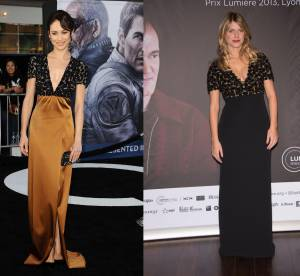 Olga Kurylenko vs Melanie Laurent : la robe empire Burberry