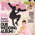Jessica Biel s'est mariée en rose et en Giambattista Valli.
