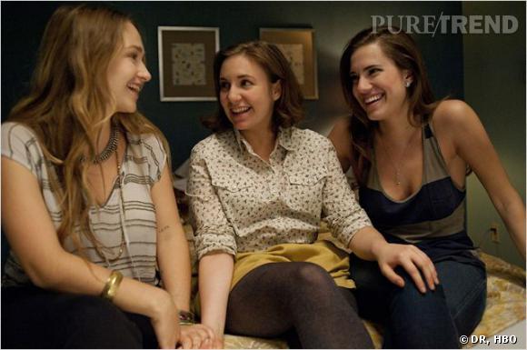 """Le casting de """"Girls"""" fait dans le naturel : exit le maquillage."""