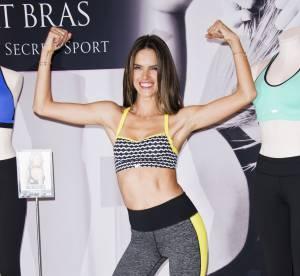 Alessandra Ambrosio se met au sport pour Victoria's Secret