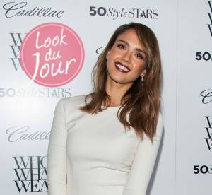 Jessica Alba, lumineuse et terriblement mode a la soiree Who What Wear