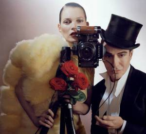 John Galliano : un retour dans Vogue grace a Kate Moss