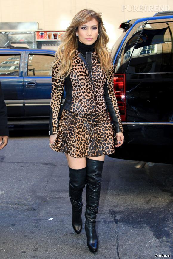 matériaux de qualité supérieure achat original le magasin Jennifer Lopez a sorti sa panoplie léopard Pas très chic ...